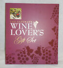 Wine Lover Gift Set NIB 4 Pc Set Wine Record Journal Stopper Opener Drip Collar