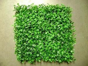 Uv Artificial Boxwood Mat Den Wall Gate Fence Curtain Post
