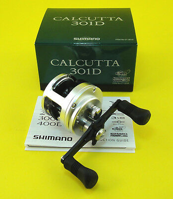 NEW SHIMANO CALCUTTA 301D 301 D LH REEL *FREE PRIORITY SHIPPING* U.S SELLER!