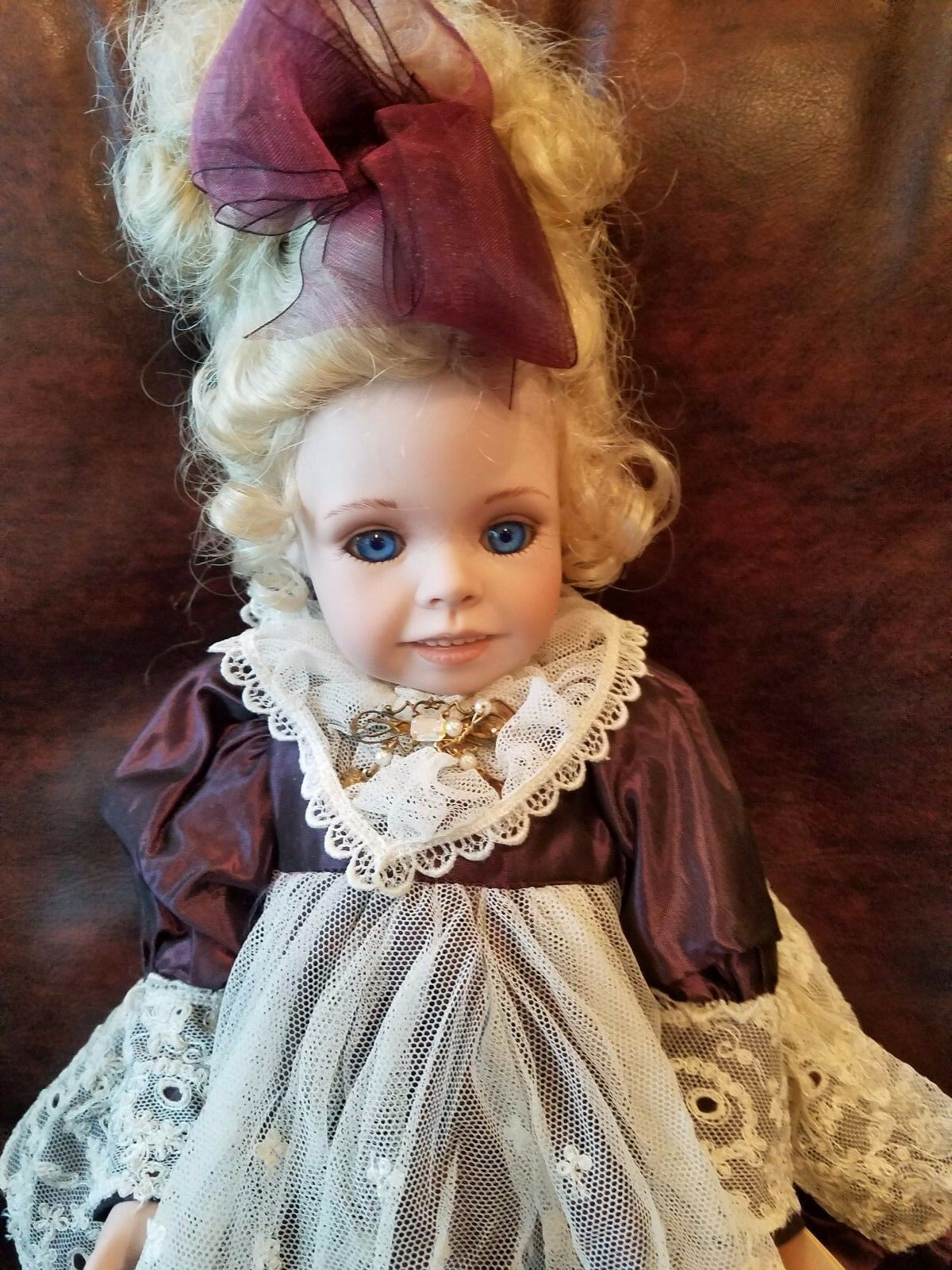 16  Doll named Haley The Collectables by Phyllis Parkins Doll  1993