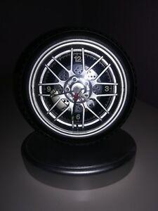 Reifen Uhr Wir Haben Lob Von Kunden Gewonnen Uhren & Schmuck Süß GehäRtet Uhr Im Reifendesign