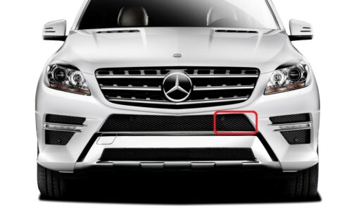 NEW GENUINE MERCEDES BENZ MB ML CLASS W166 AMG FRONT BUMPER GRILL TRIM LEFT N//S