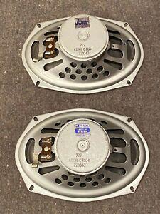 "♫ 1963 Pair of Jensen 6"" x 9"" P69R Speakers for Leslie or Guitar 50C 51 51C 22R"