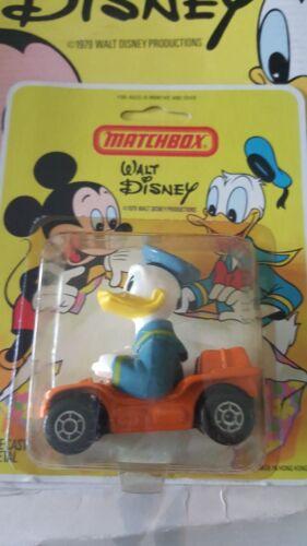 MATCHBOX Walt Disney Die cast WD-2 jouet personnage Beach Buggy Donald