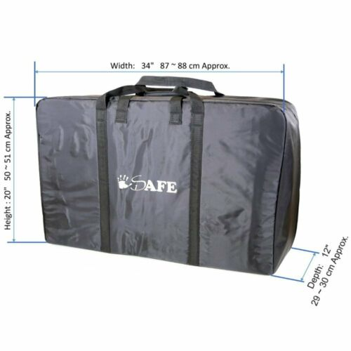 iSafe Single Travel Bag Luggage Heavy Duty Design to fit Britax Affinity