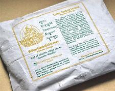 Incienso Tibetano Amarillo jambala polvo 100% Natural Hecho en Nepal