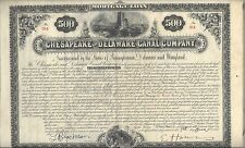 CHESAPEAKE AND DELAWARE CANAL  COMPANY ....MORTGAGE LOAN DUE 1916