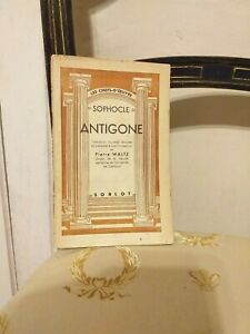 Sophocle-Antigone-Sorlot-Circa-1940-TBE