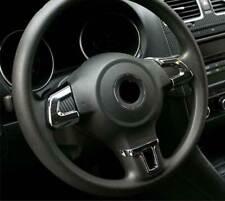 Tiguan Eos ALU Lenkrad Abdeckung Blenden Clip Chrom SET MFL für VW Touran GP