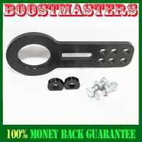 For 88-00 Honda Civic Integra Acura Tow Hook Front Black