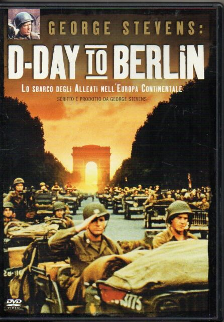 D-DAY TO BERLIN LO SBARCO DEGLI ALLEATI NELL'EUROPA CONTINENTALE - DVD (USATO)