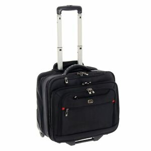 Jam Manhattan Executive Business Trolley Case avec ordinateur portable de stockage roues poignée 							 							</span>