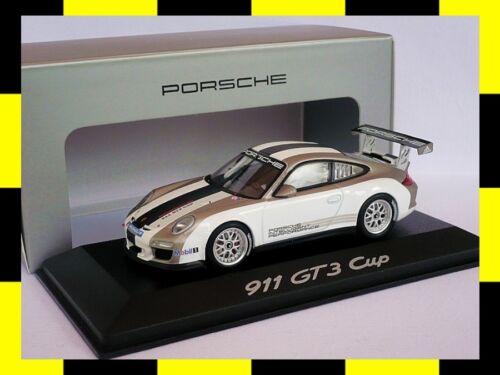 Porsche 911 gt3 997 copa presentación 2011 Minichamps 1:43 Promo dealer Edition