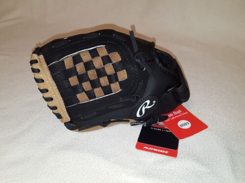 """PM105RB Left-Hand Throw Rawlings Playmaker 10.5/"""" Tee Ball Glove"""