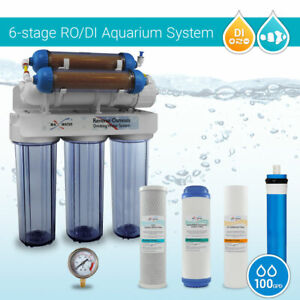 Aquarium-Reef-Coral-Reverse-Osmosis-System-100GPD-Pure-0-PPM-RO-DI-Water-Filter