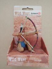 SETTLER GIRL by Schleich// toy// 70313// Wild West// NEW in pkg// RETIRED