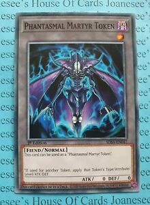 Yu-Gi-Oh 3X PHANTASMAL MARTYR TOKEN COMMON SDSA-EN047 NEAR MINT
