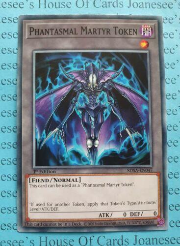 Phantasmal Martyr Token SDSA-EN047 Yu-Gi-Oh Card 1st Edition New
