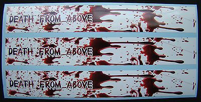 CARBON ARROW WRAPS CUSTOM 13 PACK 7 INCH GOT BLOOD FLAME FADE BOWHUNTING