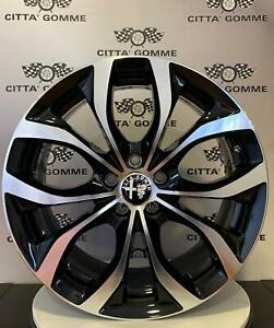 Cerchi-in-lega-Alfa-Romeo-147-156-164-Gt-da-17-034-Nuovi-Offerta-TOP-SUPER-BICOLORE
