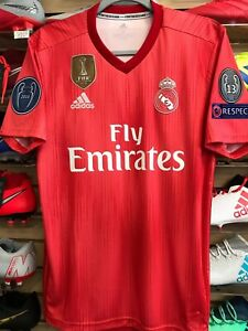88783c3368930 Image is loading Adidas-Real-Madrid-Parley-Third-Soccer-Jersey -ChampionsPatches-