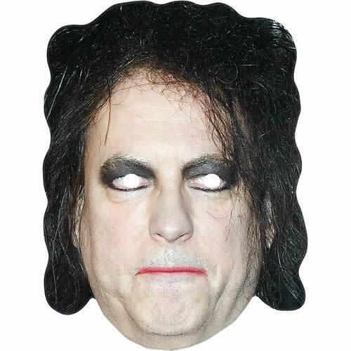 Robert Smith THE CURE celebrity chanteur Carte Masque-toutes nos masques sont pré-découpées