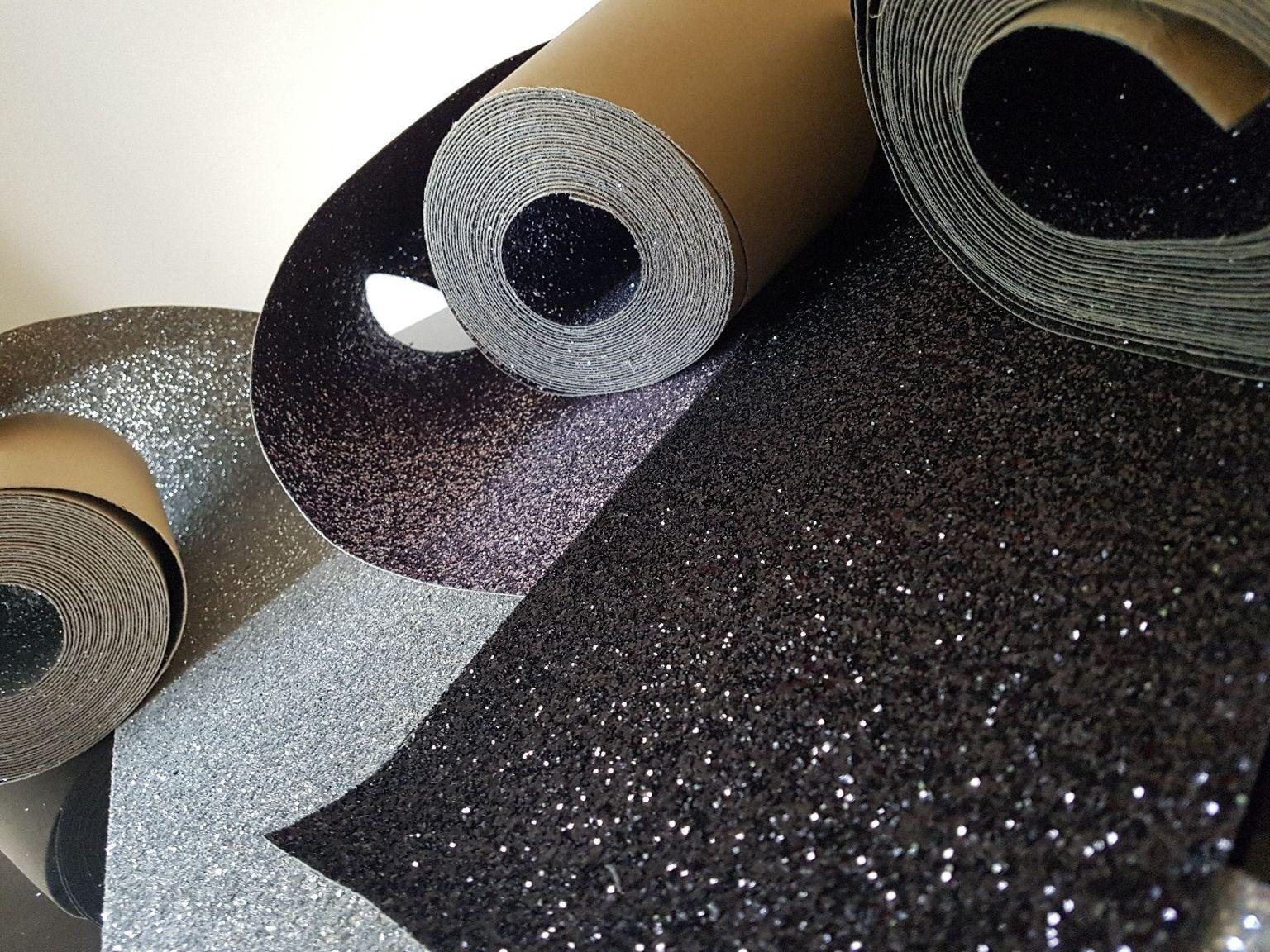 CLEARANCE SALE Glitter Wallpaper Border Self Adhesive 10m x 23cm