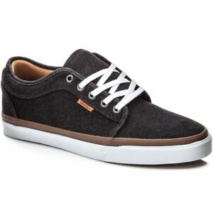 VANS Chukka Low (Denim) Black White Classic Shoes MEN S 7 WOMEN S ... 70dc814c07
