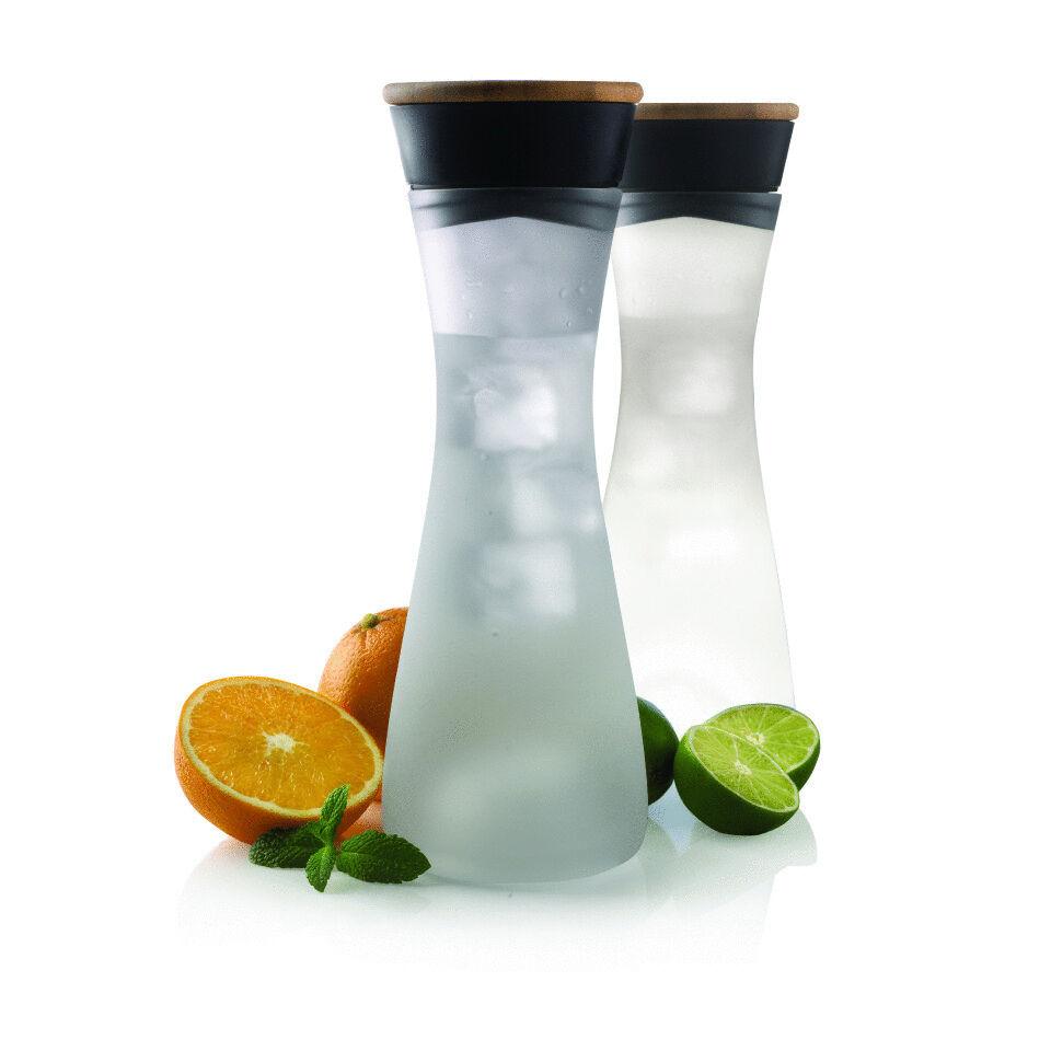 XD DESIGN Lumm LED Glass Carafe NIP Water Carafe with intgr. Lighting