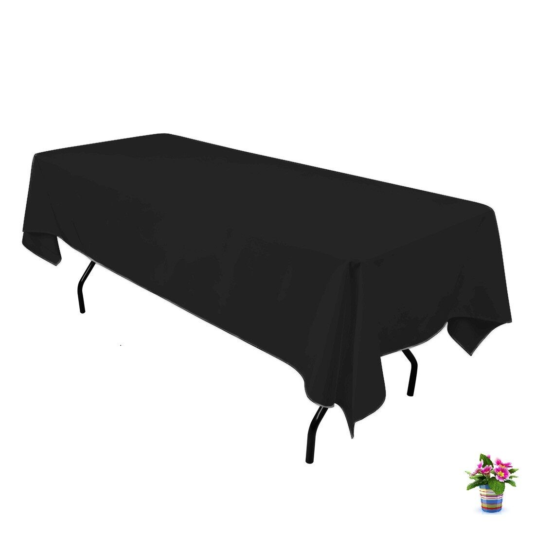 10 Pc Rectangle Wedding Event Tablecloths 60  x 126  Table Cloth 153 X 320 cm