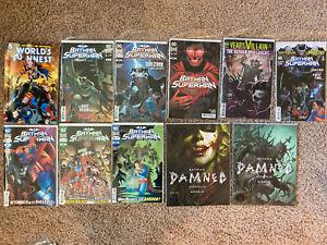 DC-Batman-Superman-Comics-1-2-3-4-5-8-TPB-Graphic-Novel-Lot-Vol-Damned-Joker