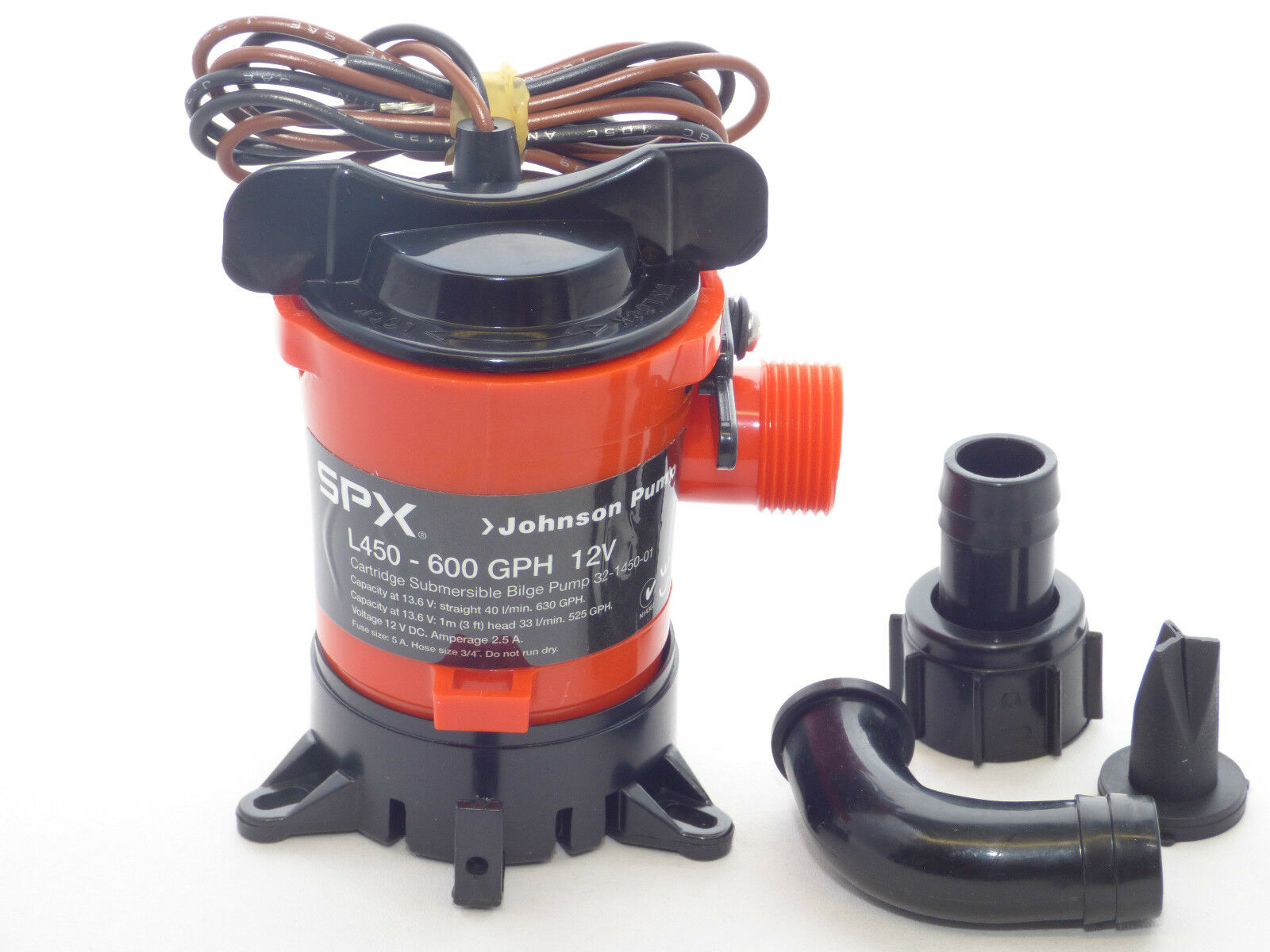 Bilge Pump Johnson PUMP L450 - L 750 Bilge Pump Water Pump Submersible Pump