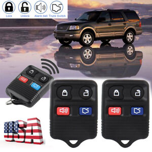 2x Cwtwb1u345 Remote Keyless Entry Key Fob For Ford Escape Mustang Explorer Les Consommateurs D'Abord