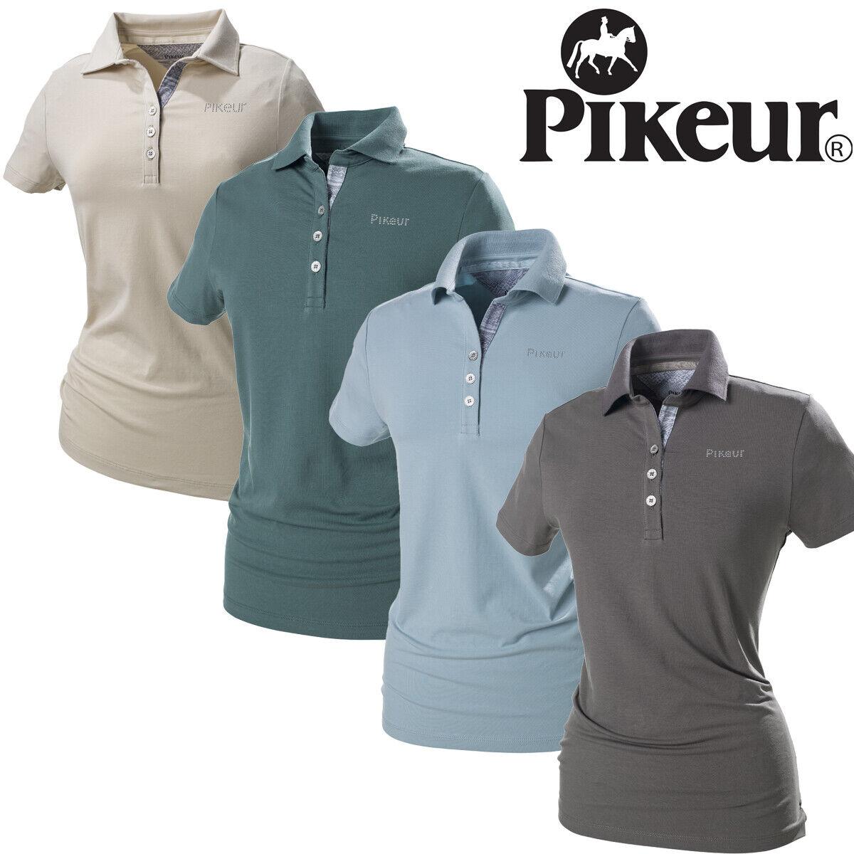 Pikeur Mariella Dames Premium Polo Shirt Gratis UK Shipping