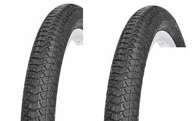 2 OF VEE RUBBER 20X1.95   BICYCLE BIKE TIRE  BMX FREESTYLE V186 PAIR