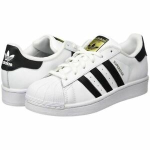 Details about Adidas Unisex Junior/Women'ss Superstar Classic Trainers Sneakers White