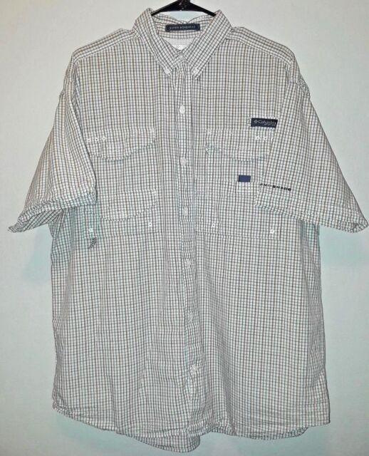 a0344164ee6 Columbia PFG Mens Size L Super Bonehead Omni-Shade Vented Fishing Shirt