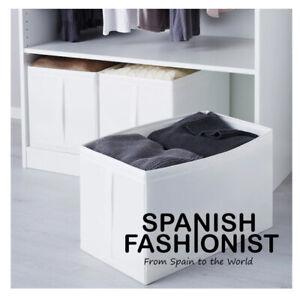 IKEA-SKUBB-Box-storage-white-31x55x33-cm-cm-x-3-piece