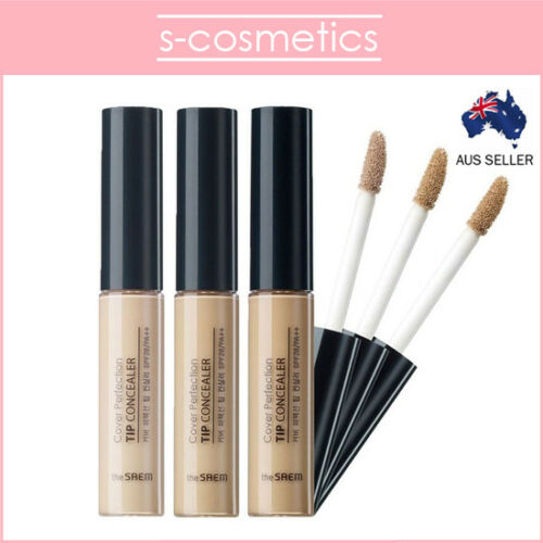 [The Saem] Cover Perfection Tip Concealer Spf28 Pa++ Beige Natural Rich Clear by The Saem