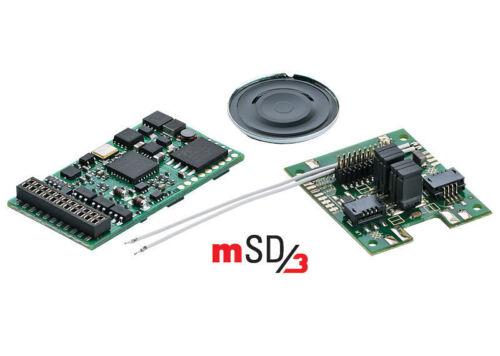 Märklin 60978 Märklin Sound decodificador msd3 diesellok mercancía nueva