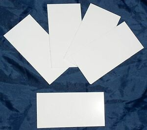 5-Spare-Blank-Plastic-Key-Cards-for-Clipsal-E2031EKT-KeyCard-Switch-FIVE-CARDS