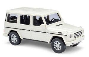 Busch-51451-Mercedes-Benz-G-Class-White-Year-2008-H0