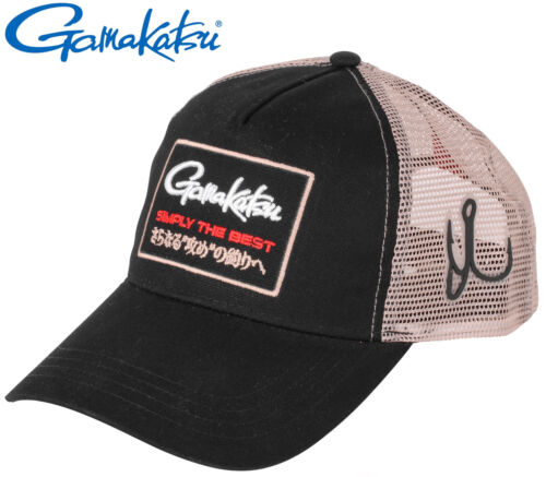 Schirmmütze Angelmütze Mütze Gamakatsu Trucker Mesh Cap Angelcap