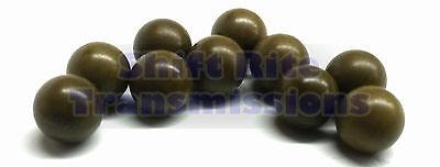"GM 4L60E 4L65E 4L70E TORLON Plastic Valve Body Check Balls .250/"" 10-Piece Kit"