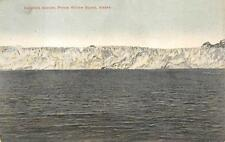 COLUMBIA GLACIER PRINCE WILLIAM SOUND ALASKA POSTCARD (c. 1910)