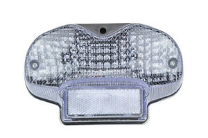 Clear Lens Led Taillights Brake Rear Light License Plate Light for Suzuki 00-05 Bandit 600 01-05 Bandit 1200