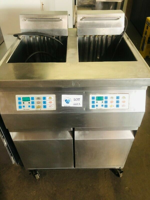 Fish, Chicken & Chip Fryer Double Compartment