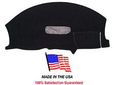 1997-2002 Chevy Camaro Black Carpet Dash Cover Mat Pad CH64-5 Made in the USA