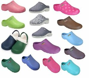 Town-and-Country-Briers-Womens-Gardening-Shoes-Clogs-Lightweight-Cloggies-Size