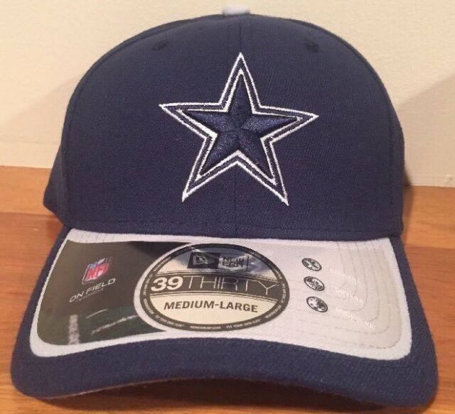 Dallas Cowboys OFFICIAL 2015 New Era 39Thirty Player Coach Sideline Cap Hat  M-L 54755cb00